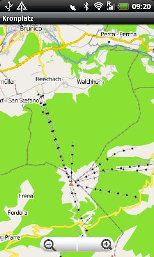 Kronplatz Street Map