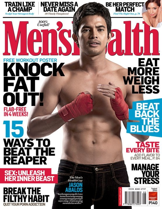 Men's Health PH - Jason Abalos