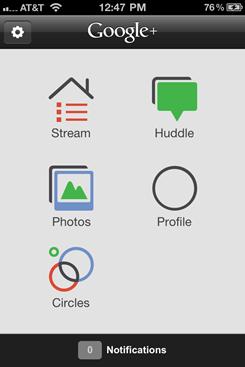 Google Plus – iPhone Google+ App