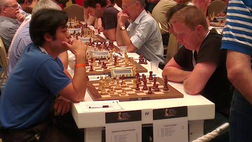 GM Simon Williams imponerte da han slo Gelfand med de sorte brikkene, men mot Nakamura ble det stopp