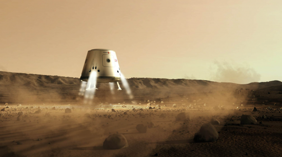 The Mars One mission to Mars (3)