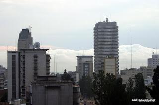 Paysage urbain de la ville de Kinshasa, 2004.