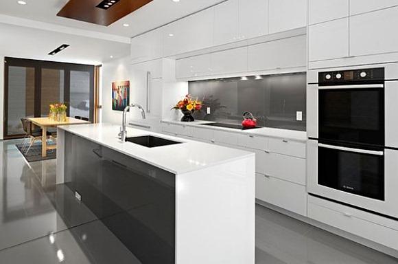 Colores con estilo para decorar: gris, blanco y rattan