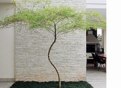 texturas nas paredes externas