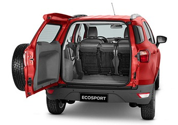 Ford Ecosport Mini SUV rear