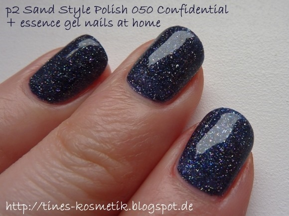 p2 Sand Style Polish Confidential mit Gel 3