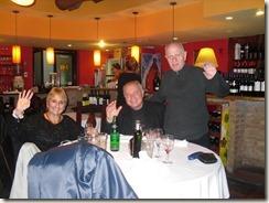 Josecitos Geburtstag, Abendessen mit Ruben Frassia und Mutter H 001