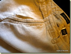 linen pants pocket