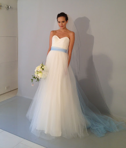 White tulle with