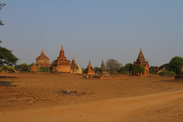 The stupas of Bagan, Burma