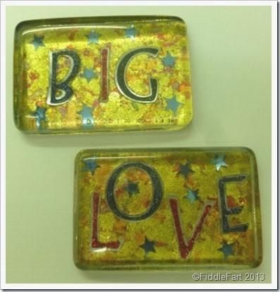 Big Love paperweights