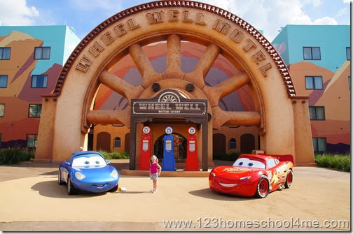 Cars Family Suites at Art of Animation in Disney World