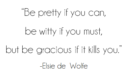 quote elsie de wolfe