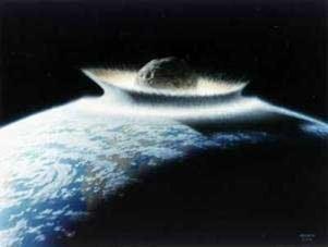 Lokasi Jatuhnya Komet