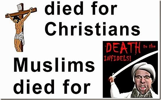 Jesus Crucixion vs MO death to infidel toon