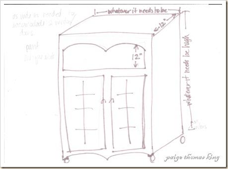 double window cabinet 001