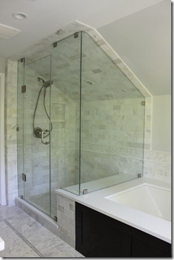 GlassCarreraQuartzShower