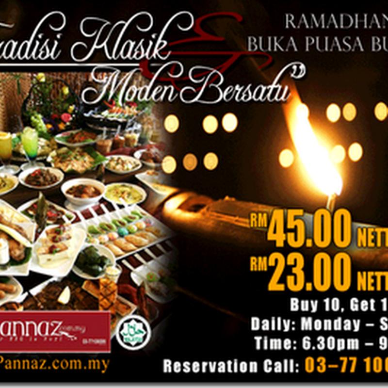 Senarai Buffet Ramadhan 1432H/2011