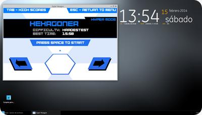 el desktop con xfce4