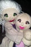 Kamilla med Carmen på armen ;P