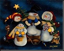 ChristmasSnowman4withdog