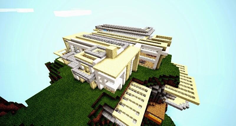 Mod para minecraft pe mapa casa moderna for Casas modernas minecraft 0 10 0