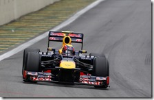 Mark Webber con la Red Bull