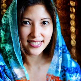 Dr Mal by Ferdinand Ludo - People Portraits of Women ( rancho canco, nice scarf, window light, middle east look, dra mal )