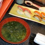 sushi in roppongi in Roppongi, Tokyo, Japan