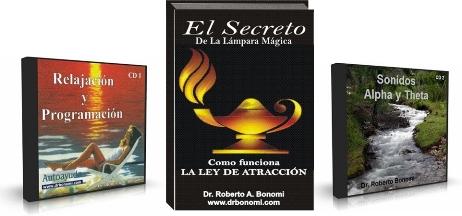 EL SECRETO DE LA LÁMPARA MÁGICA, Dr. Roberto Bonomi [ Libro + Audio ] – Poner a trabajar para usted la Ley de Atracción en solo 15 minutos