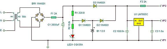 Power Electronics: UPS Power Supply