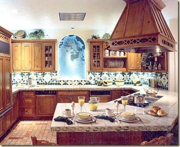 decoracion de cocinas rusticas1