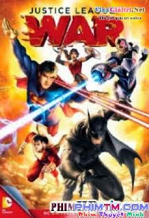Liên Minh Công Lý - Justice League: War Vietsub Tập HD 1080p Full