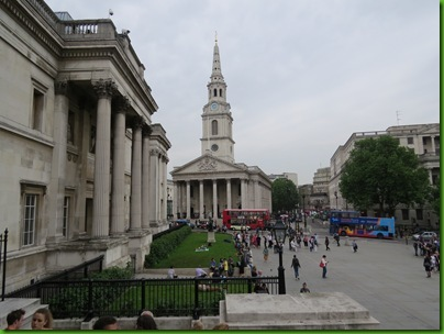 026  St Martin's-in-the-Fields from The National Gallery
