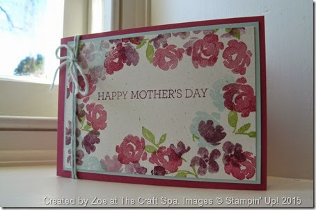 Painted Petals card by Zoe at The Craft Spa (1)