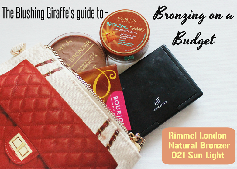 budget rimmel natural bronzer 021 sun light the blushing giraffe. Black Bedroom Furniture Sets. Home Design Ideas
