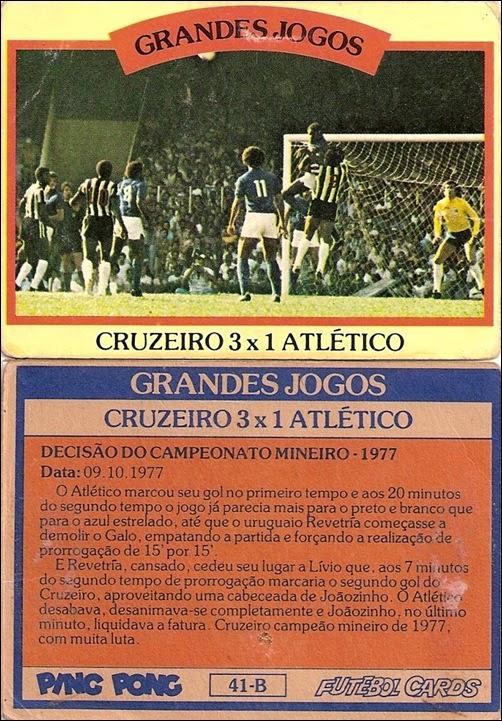 41-B - Cruzeiro 3x1 Atlético