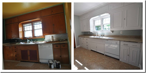 Medium image of adding molding to old cabinets diy tutorial