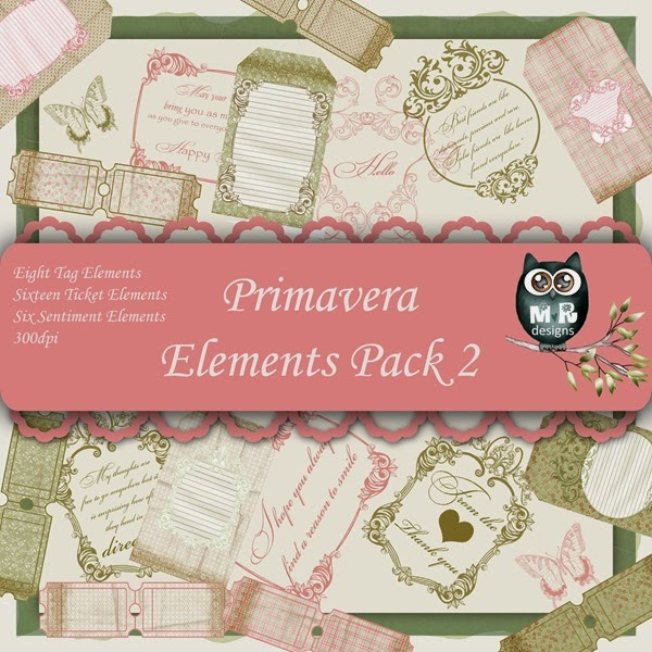 Primavera Elements Front Sheet Pack 2