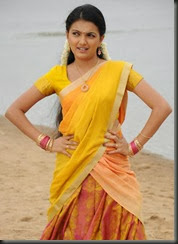 Actress Saranya Mohan in Kolagalam Movie Stills