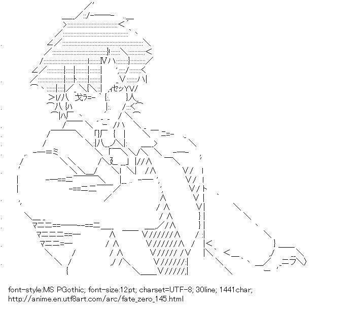 Fate/zero,Emiya Kiritsugu
