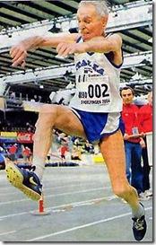 Vittorio Colò salto triplo record mondiale veterani a 92 anni