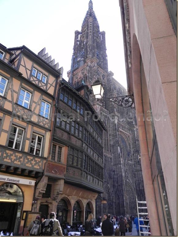 A catedral de Strasbourg