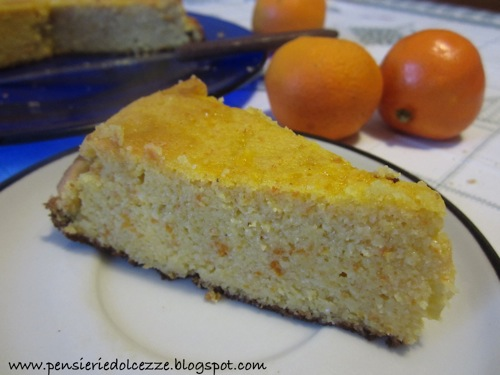 Torta di Clementine e Mandorle 3