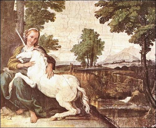 Domenico Zampieri, Dame à la licorne