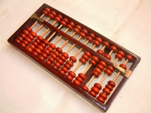 Chinese Abacus from Wikipedia
