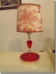 tissue paper lampshade
