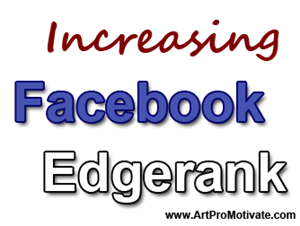 increasing facebook edgerank