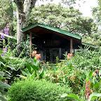 Gibb's Farm, eins der Häuser mit Gästezimmern, verborgen im Grünen © Foto: Angelika Krüger | Outback Africa Erlebnisreisen