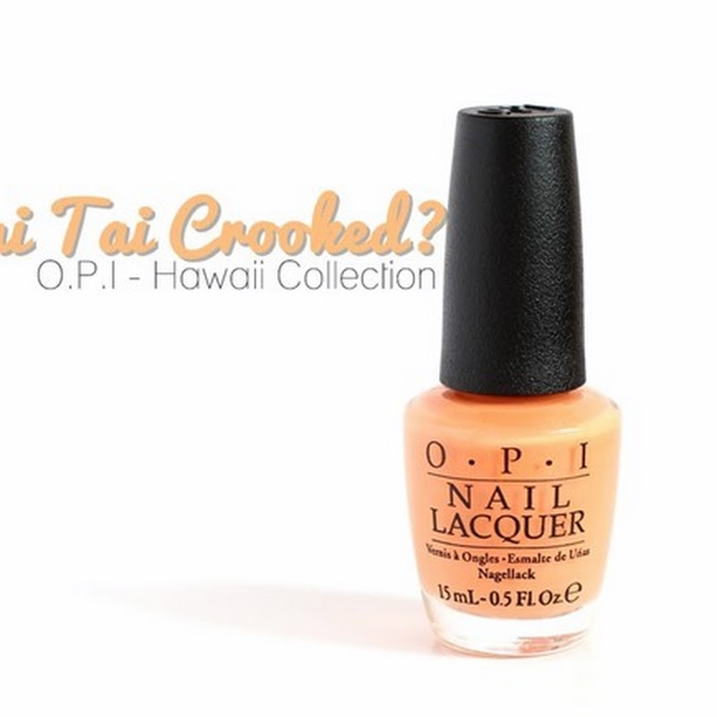[Swatch] O.P.I–Is Mai Tai Crooked? (Hawaii Collection)